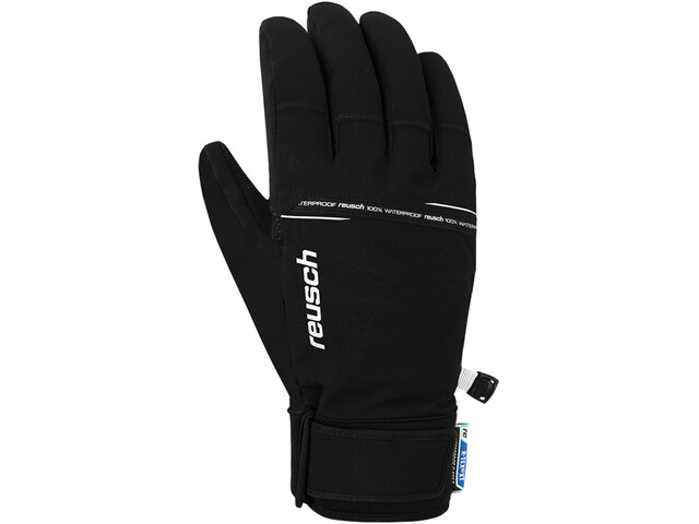 Reusch Logan R-TEX Gants, black/white